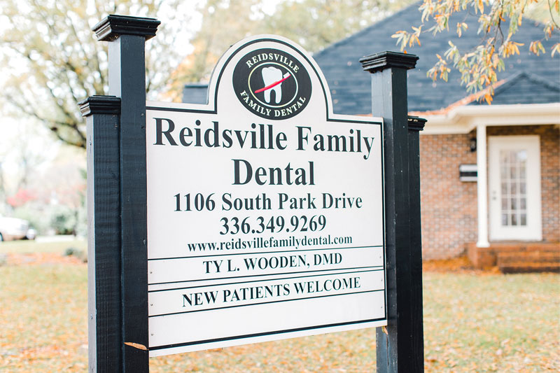 Sign - Dental Office in Reidsville, NC